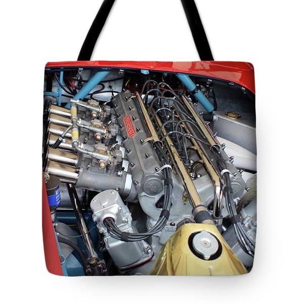 Maserati Engine Tote Bag