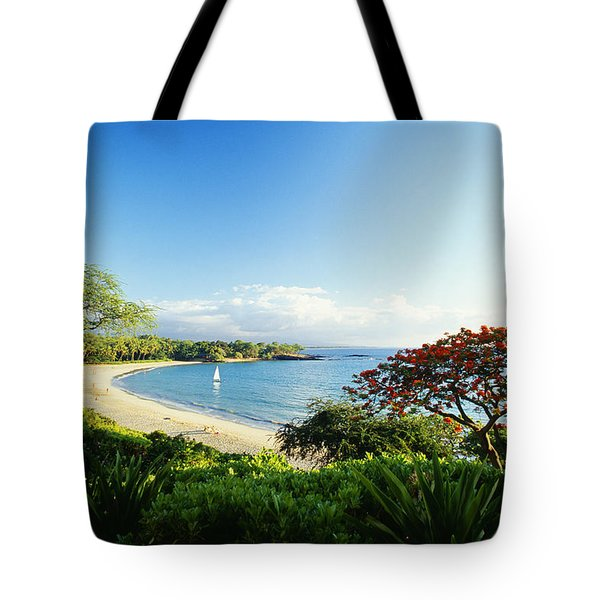 Mauna Kea Beach Tote Bag by Peter French - Printscapes