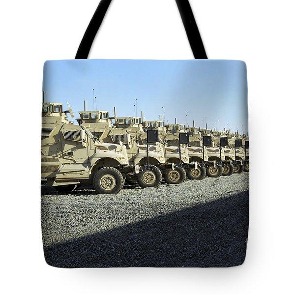 Maxxpro Mine Resistant Ambush Protected Tote Bag by Stocktrek Images