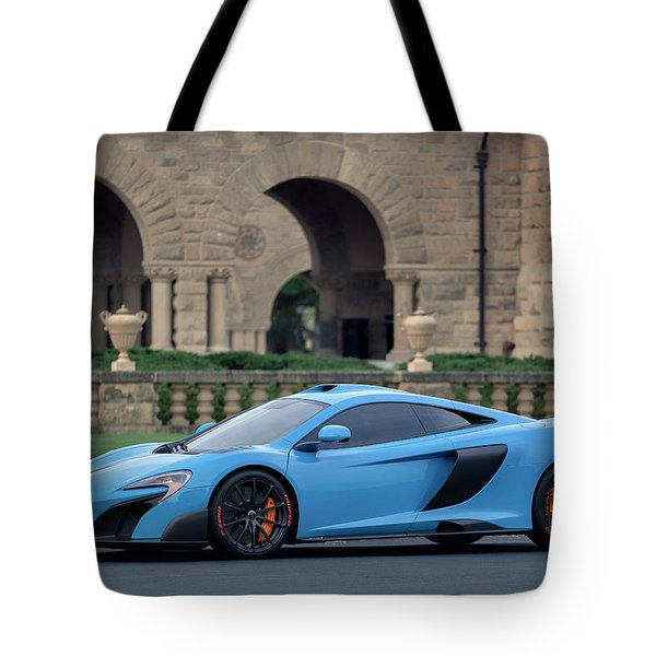 #mclaren #675lt With #pirelli #tires Tote Bag