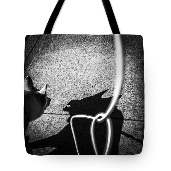 Me And My Shadow Tote Bag