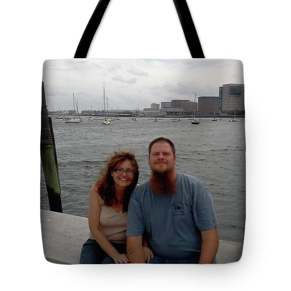 Tote Bag featuring the photograph me by Richie Montgomery