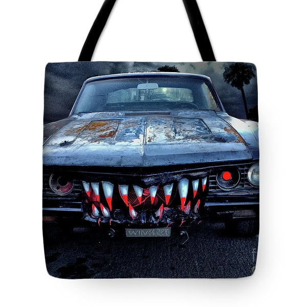 Mean Streets Of Belmont Heights Tote Bag