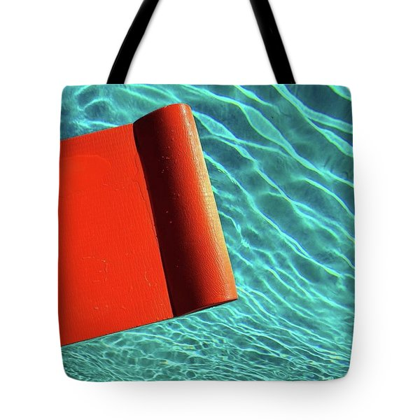 Meanwhile, Back At The Pool. #pool Tote Bag