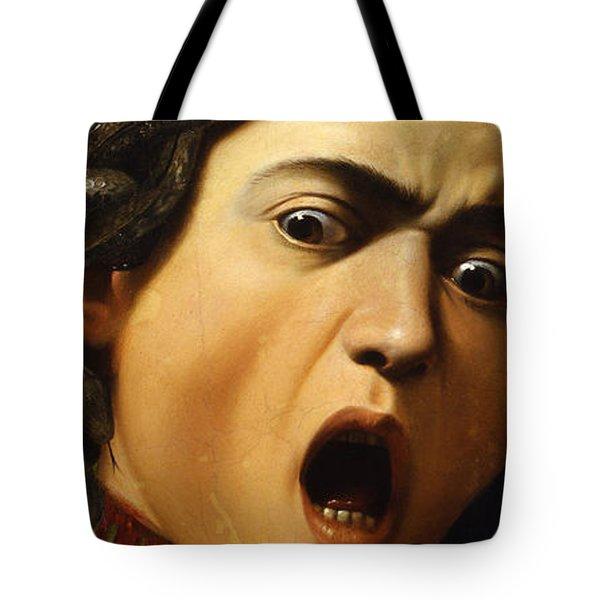 Medusa Tote Bag by Caravaggio