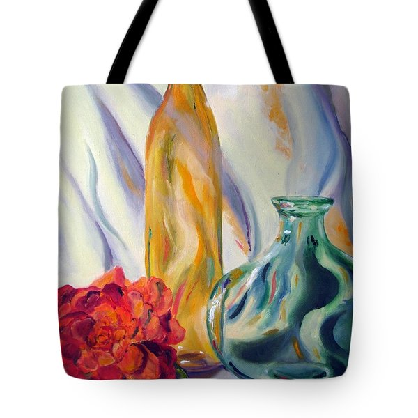 Melody In Glass Tote Bag