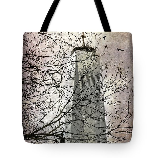 Tote Bag featuring the photograph Memorial by Judy Wolinsky