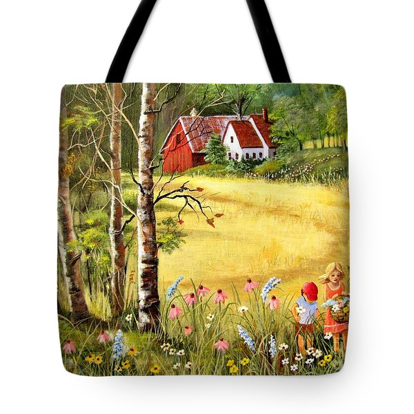 Memories For Mom Tote Bag by Marilyn Smith