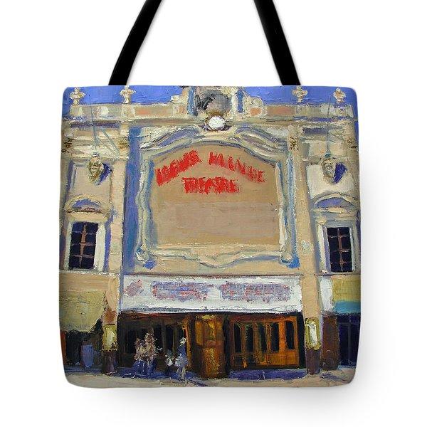 Memories Loews Paradise Bronx Tote Bag by Gail Eisenfeld