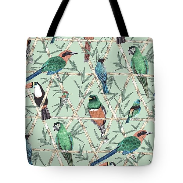 Menagerie Tote Bag by Jacqueline Colley
