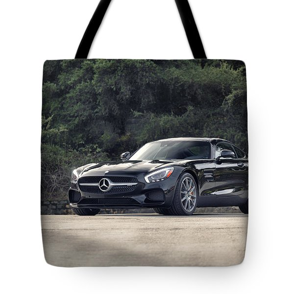 #mercedes #amg #gts Tote Bag