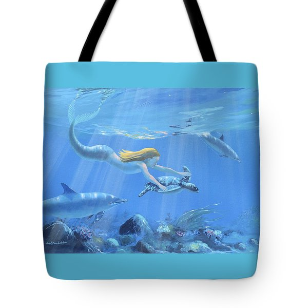 Mermaid Fantasy Tote Bag