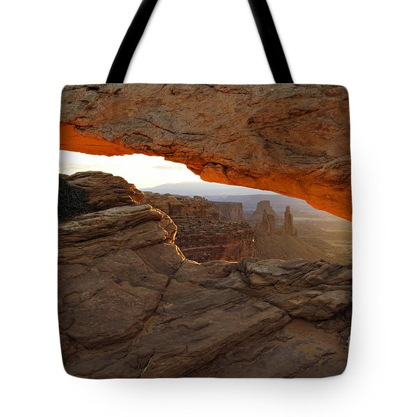 Mesa Arch Sunrise - D003097 Tote Bag