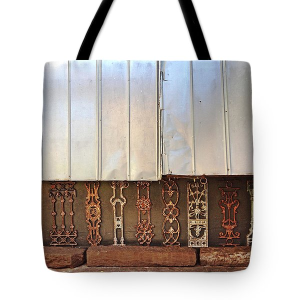 Metal And Ironwork  Tote Bag