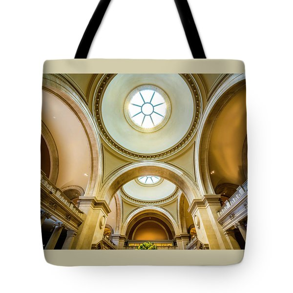 Tote Bag featuring the photograph Metropolitan Museum Of New York by Marvin Spates