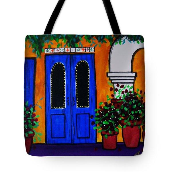 Mexican Door Tote Bag