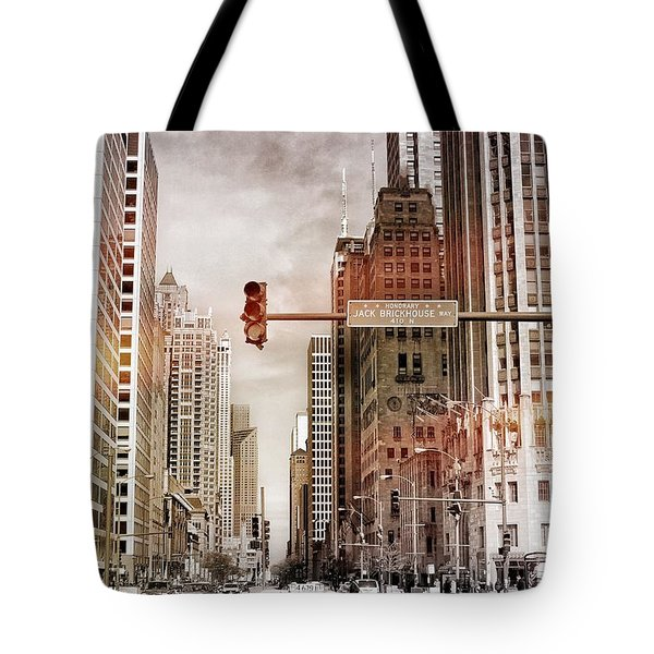 Michigan Ave - Chicago  Tote Bag