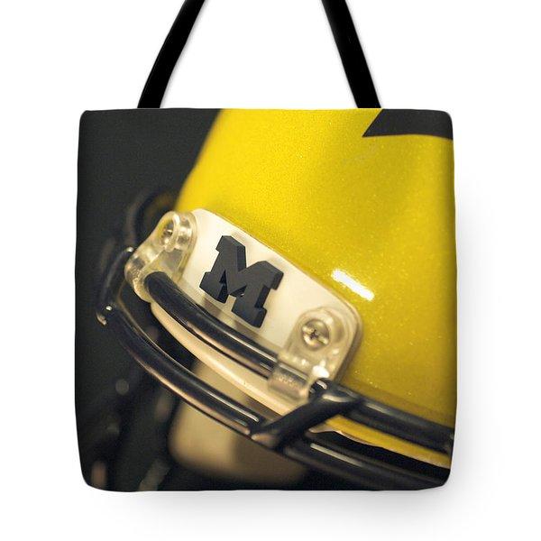 Michigan M Tote Bag