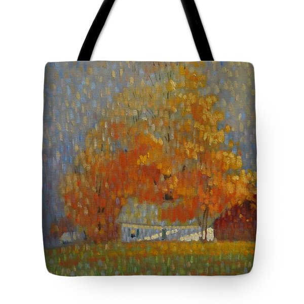 Middle Farm Foliage Tote Bag