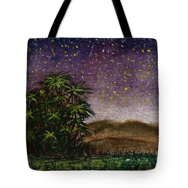 Midnight At The Oasis Tote Bag