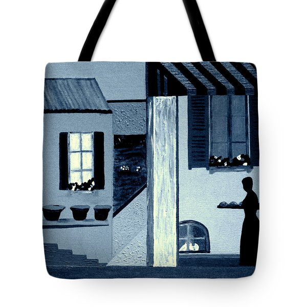 Midnight In Limoux Tote Bag