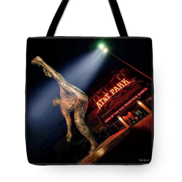 Midnight Windup Tote Bag by Blake Richards