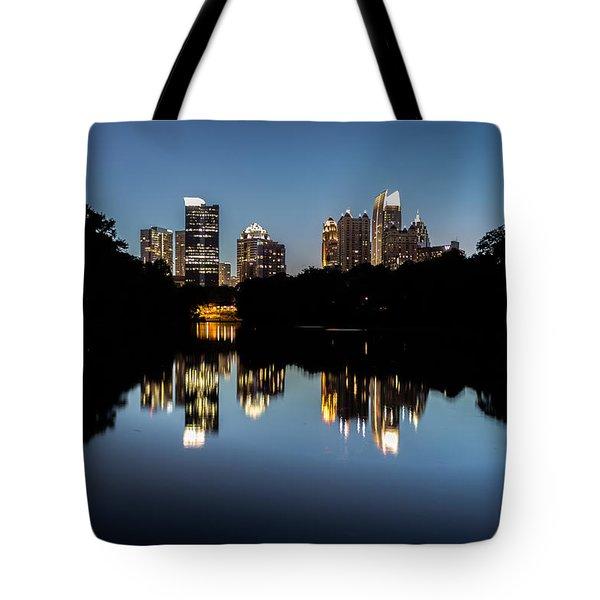 Midtown Skyline Tote Bag