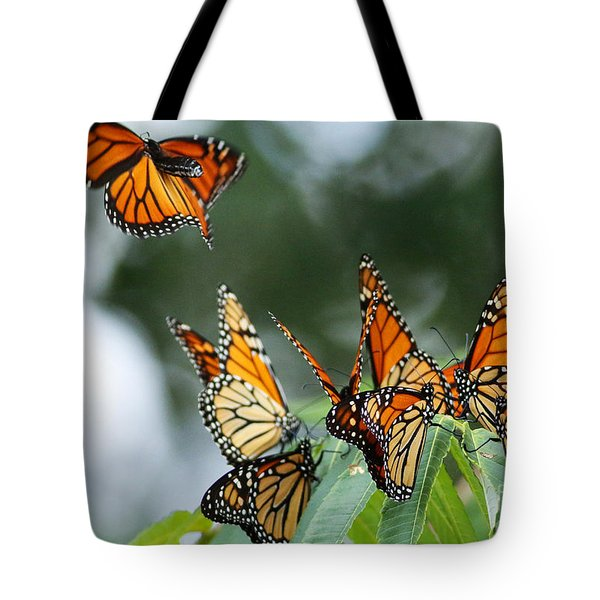 Migration Of Monarchs Tote Bag