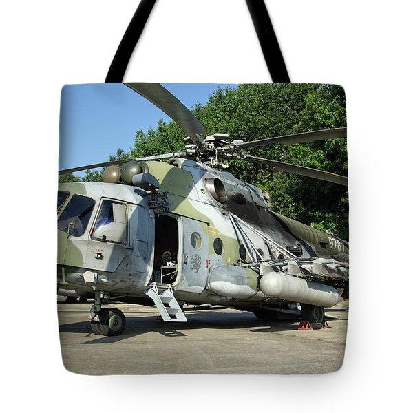 Mil Mi-17 Hip Tote Bag
