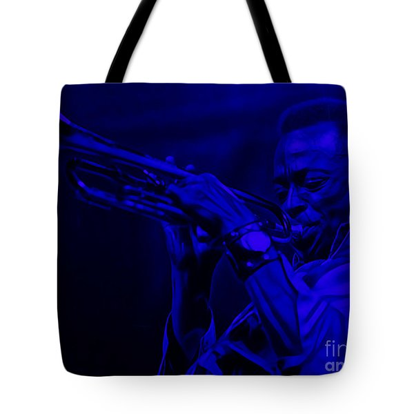 Miles Davis Collection Tote Bag by Marvin Blaine