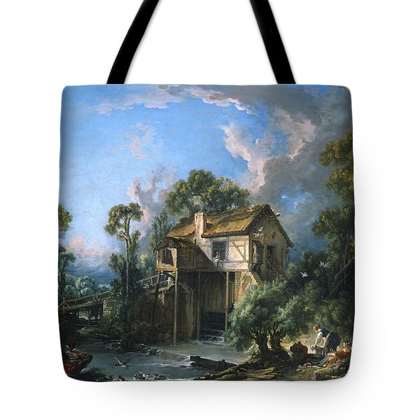 Mill At Charenton Tote Bag