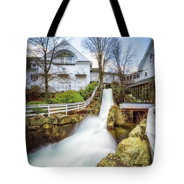Mill Falls Tote Bag
