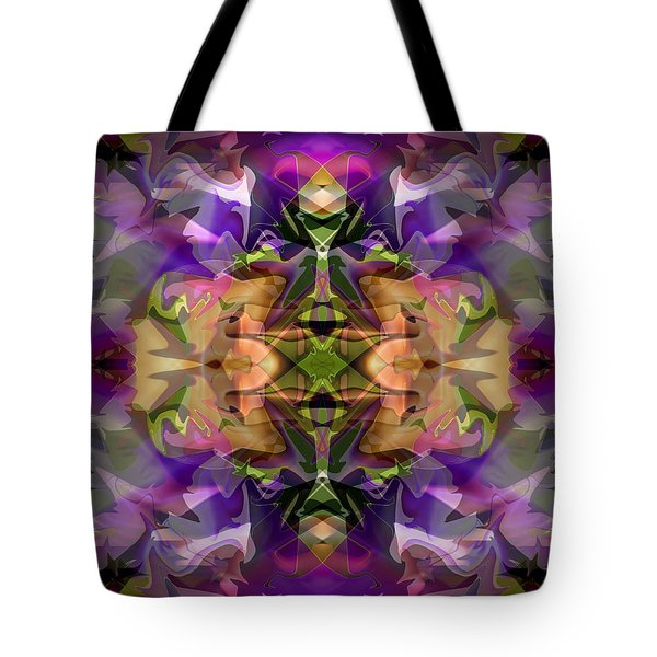 Tote Bag featuring the digital art Mind Portal by Lynda Lehmann