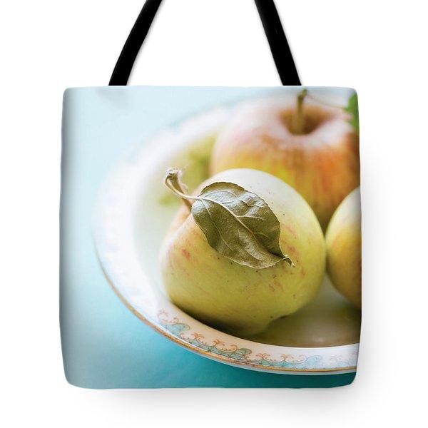 Mini Apples Tote Bag