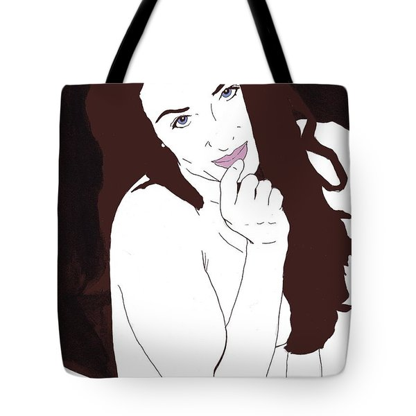 Mischevious Tote Bag