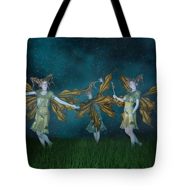 Mischief  Tote Bag by Betsy Knapp
