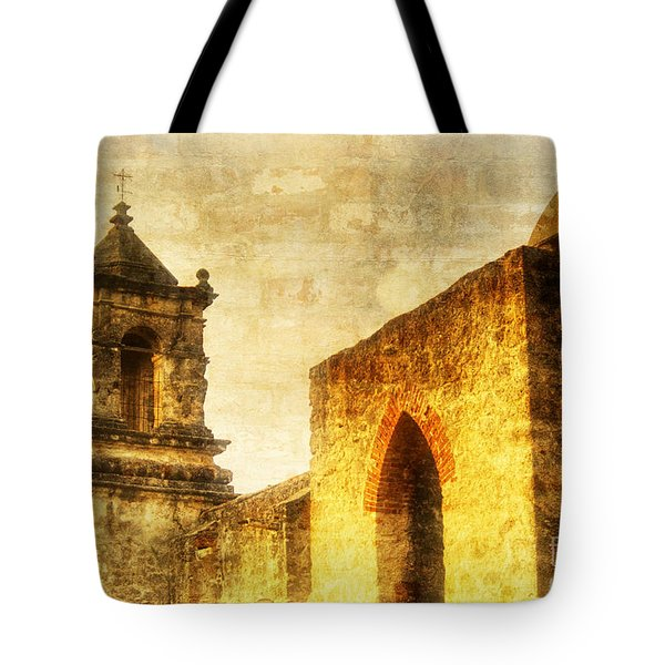 Mission San Jose San Antonio, Texas Tote Bag