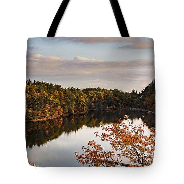 Mohonk Mountain House Lake Tote Bag