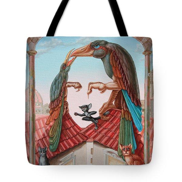 Mona Lisa. Air Tote Bag