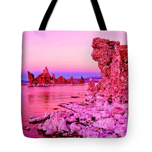 Mono Lake Dawn Tote Bag by Dennis Cox