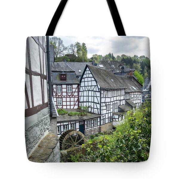 Monschau In Germany Tote Bag