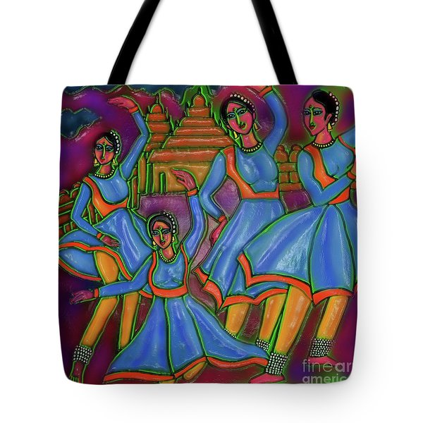 Monsoon Ragas Tote Bag