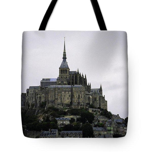 Mont St Michel Tote Bag