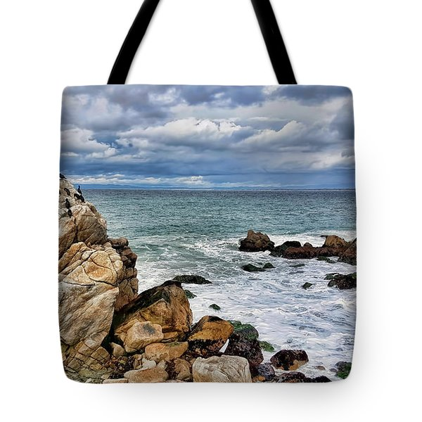 Tote Bag featuring the photograph Monterey Bay by Gina Savage
