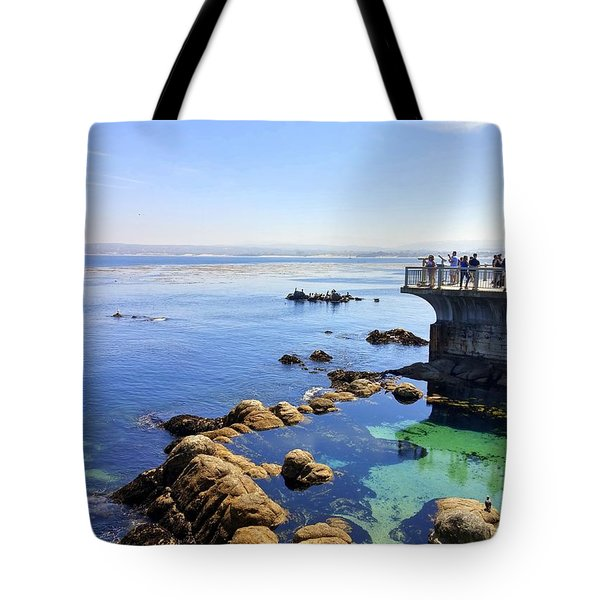 Montery Bay Tote Bag