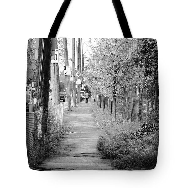 Montreal Street Photography Tote Bag