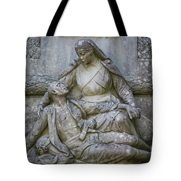 Tote Bag featuring the photograph Monument To The Duchess Of Victory Genoves Park Cadiz Spain by Pablo Avanzini