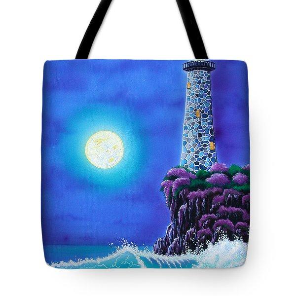 Moonlight Vigil Tote Bag by Angie Hamlin