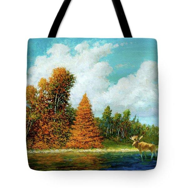 Moose Country Tote Bag