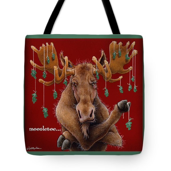 Moosletoe... Tote Bag